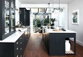 dark kitchen cabinets with light countertops and floors tile floor cream 7 reasons to choose stunning