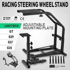 racing steering wheel stand for logitech g25 g27 racing wheel shifter pro