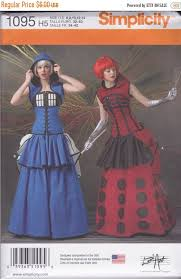 Simplicity Patterns On Sale Interesting Simplicity Pattern 48 LoriAnn Costume Designs Dr Who Themed