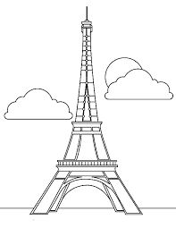 Small Picture Magnificent Eiffel Tower Coloring Page Download Print Online