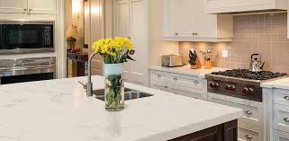 quartz is a non porous stone that does not need to be sealed like granite or other natural stones in order to keep them from staining