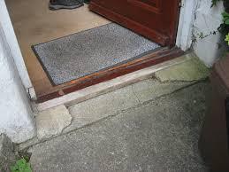 front door thresholdRepairreplace front door threshold  Carpentry  Joinery job in