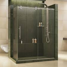 dreamline enigma 36 in x 60 1 2 79 frameless sliding semi frameless neo angle pivot corner shower door
