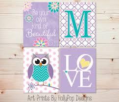 Owl Bedroom Accessories Purple Owl Etsy