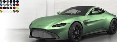 Aston Martin Color Chart 2019 Aston Martin Vantage Paint Color Options