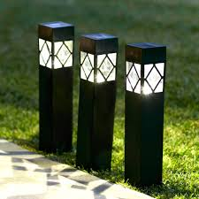 collection green outdoor lighting pictures patiofurn home. 3 Black Bollard Solar Stake Lights | Lights4fun.co.uk Zoom · Collection Green Outdoor Lighting Pictures Patiofurn Home