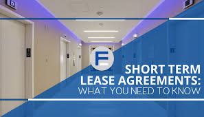 short term lease agreements what you