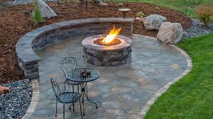 how to build a diy paver patio with firepit