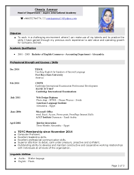 Create Curriculum Vitae Classy Create A New Cv Bananaztk