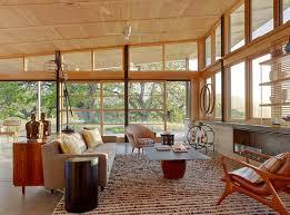 Wooden Living Room Exterior