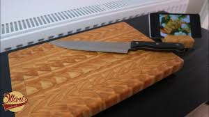 Making an End Grain Cutting board with matching Phone / Tablet stand