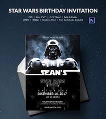 Star Wars Invitation Template Mathosproject