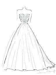 Coloring Dresses Coloring Pages For Kids Party Dress Dresses For