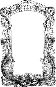Wild Ornate Frame Over Drive PNG Clip arts for Web Clip arts