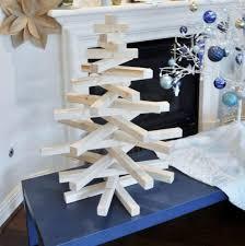 Design Sensibilities  Christmas Tree Holidays And DecoratingWooden Branch Christmas Tree