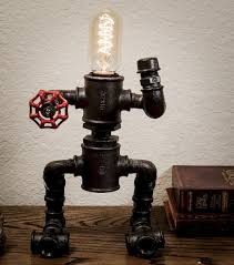 diy industrial lighting. 35 Creative Diy Industrial Pipe Lamp Design Ideas Robot To Decor Your Home (15) Lighting