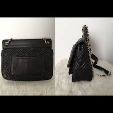 Tory Burch - Tory Burch Black Marion Quilted Saddle Bag from ... & Tory Burch Bags - Tory Burch Black Marion Quilted Saddle Bag Adamdwight.com