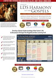 Harmony Of The Gospels Lds App Of The New Testament Lds