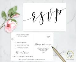 Rsvp Template Online Wedding Rsvp Template Wedding Card Template Wedding Rsvp