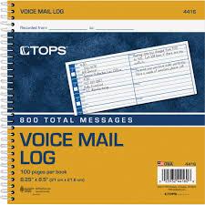 Phone Message Log Book Top4416