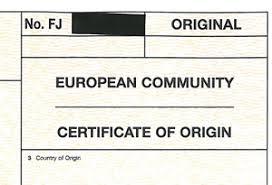 Letter Of Origin Export Documentation At Sy International Trading Centre