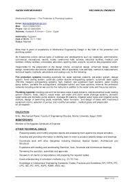 Mechanical Design Engineer Resume Samples Resume Samples Of Mechanical Engineer Curriculum Vitae Cv