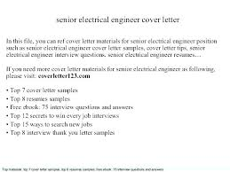 Electronics Engineering Cover Letter Sample Electronics Engineer Cover Letter Coaxia