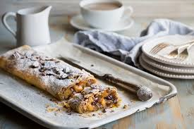 Apple Cranberry And Pecan Strudel Recipe Great British Chefs
