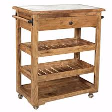 Gracie Oaks Barons Spacioussturdy Kitchen Island With Marble Top