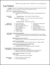 Template It Resume Format Samples For Cv Naukri Software Template