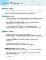 Resume Template Open Office Adorable Administrative Support Resume Samples 48 It Specialist Sample Open