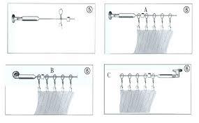 wire curtain hanger curtain curtain rod brackets no nails awesome curtains wire wire curtain hanger medium wire curtain hanger