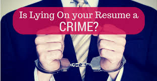 Lying On Resume Adorable Is lying on your Resume considered illegal and a Crime WiseStep