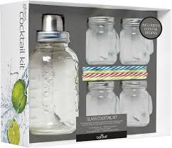 Want to infuse vodka, mix a whiskey old fashioned, or shake up a fresh our entertaining kits include tools and recipes to handcraft unique food and beverages with the ones you love. Kitchencraft Bar Craft Glass Cocktail Kit Piccantino Online Shop International