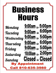 printable store hours sign printable store hours sign hola klonec co hours of operation sign