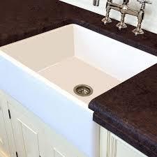 30 white farmhouse sink. White Italian Fireclay Farmhouse Kitchen Sink With 30