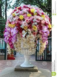 Big Flower Vase Design Large Flower Vase Stock Image Image Of Ornament Green