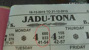 Jadu Tona Sai 680 Panel Pass Om Lucky Chart Sai Single 4