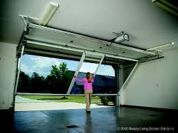 garage screen door slidersGarage Doors  Breezy Living Retractable Garage Screen Door System