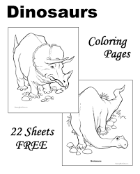 This santa hidden picture puzzle would be fun to play during the holidays. Dinosaur Coloring Pages
