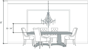precious dining room lighting height kitchen table
