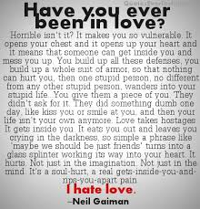 Love And Hate Quotes Awesome Have You Ever Been In Love I Hate Love Love Quote