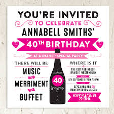 personalised birthday or wedding party invite s party invitations
