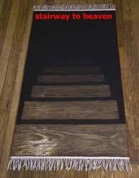stair rug stairway to darkness rug