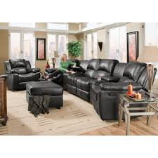 Flick Home Theater  Recliners  Consoles  Reclining Loveseat - Swivel recliner chairs for living room 2