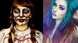 top 10 easy makeup tutorial scary pilation 2018 makeup transformation part 4