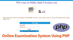 Online Quiz Templates Awesome Online Exam System Using Php Mysql Tutorial
