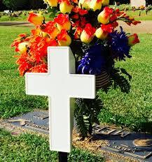 Solar Grave Decorations Eternal Light Cross Solar Powered Cross For Cemetery Grave