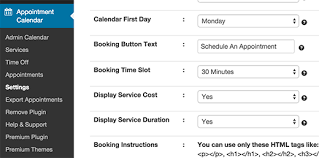 Appointment Calander The 16 Most Used Free Wordpress Booking Plugins Fully Automated