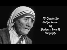 Mother Teresa Quotes Fascinating 48 Quotes By Mother Teresa On Kindness Love Humanity YouTube